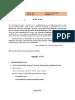 Togo BEPC 2016 Orthographe