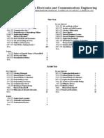 BSECE Curriculum