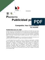 PUBLICIDAD PARA LA VIDA 2011