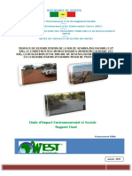 Travaux de Rehabilitation de La Route Senoba-ziguinchor
