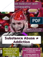 Drug de-addiction