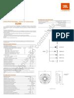 JBL D200 28031035 Manual Portuguese