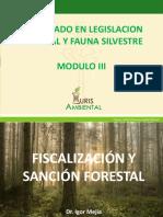 FISCALIZACIÓN Y SANCIÓN FORESTAL