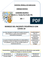 MANEJO DE PACIENTE PEDIÁTRICO CON COVID