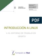 4 Entorno de Trabajo Ubuntu