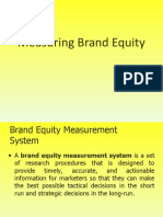 11 Brand Equity Measurement important