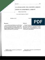 Carpintero Capell, H. (2002). Del Diagnóstico a La Evaluación Una Cuestión a Debate