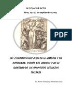 Las Constituciones Ocds en La Historia y en Actualidad Cicla Sur 2019 Libretto
