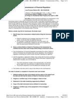 Maryland Foreclosure Law Process Reform Bill - SB 216/HB 365