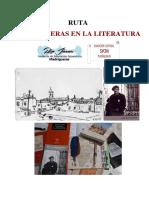 Ruta Madrigueras en La Literatura. 2021