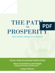 House Republicans' 2012 Budget