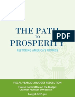 House Republicans' 2012 Budget