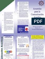 Acuerdos para la Comunicación Asertiva