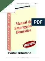 MANUAL DO EMPREGADOR DOMÉSTICO
