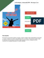 El Coraje De Ser Tu Misma (Psicología y Autoayuda) PDF - Descargar, Leer