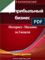 Сверхприбыльный бизнес. Интернет-магазин за 2 недели by Калиновский А. (z-lib.org)