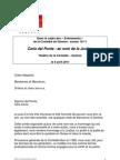 """Mot de Bienvenue de Sandrine Salerno à l'occasion de la conférence donnée par Carla del Ponte """"au nom de la Justice"""""""