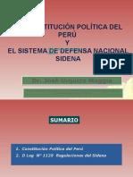 La Constitucion Politica Del Peru y El Sistema de Seguridad y Defensa Nacional (1)