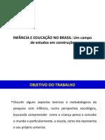 INFÂNCIA E EDUCAÇÃO NO BRASIL