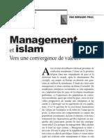 article sur management et islam