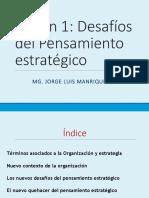 DESAFIOS DE PENSAMIENTO ESTRATEGICO
