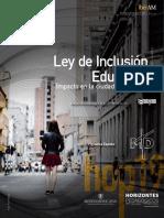 Ley de Inclusión educativa