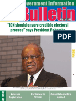 MIB Bulletin March 2009  - Namibian Government