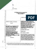 PLAINTIFF'S OPPOSITION TO DEUTSCHE BANK DEMMURRER TO FOURTH AMENDED COMPLAINT RIVERSIDE SUPERIOR COURT JUDGE WHITEOpp-dbntc 4ac- Dem Str Rjn Bk Ind Mers 04052011