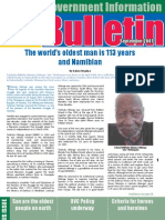 MIB Bulletin September  - Namibian Government