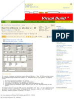 Real Time Module for Windows XP - CodeProject