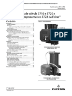 instruction-manual-posicionadores-de-válvula-3710-e-3720-e-conversor-eletropneumático-3722-da-fisher-3710-3720-valve-positioners-3722-electro-pneumatic-converter-portuguese-br-pt-124110