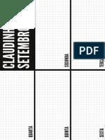 Preto e Branco Caixas Lista de Tarefas Geral Agenda Semanal (27)