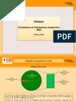 Estadisticas IMSS Feberero 2011