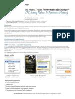 PerformanceExchange Advertiser Partner One Sheet