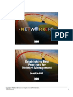 Establishing Best Practices for Network Management