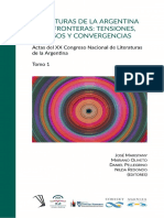 Literaturas de La Argentina y Sus Fronteras Tensiones Disensos y Convergencias 1603756958 47189