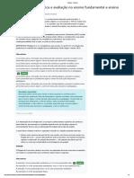 Avaliação Planejamento, didática e avaliação no ensino fundamental e ensino médio