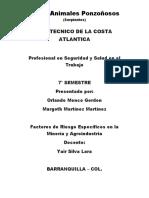 Taller Riesgo Agroindustrial