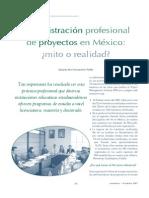 Administración profesional de proyectos en México