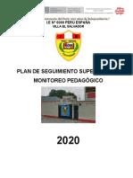 Plan de Monitoreo y Acompañamiento Institucional 6099- 2021
