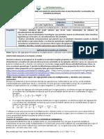 Formato guía taller 4 sobre los signos de agrupación para la multiplicación y división con números racionales