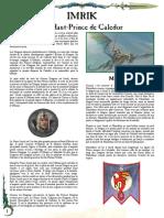 WFB8 - Imrik Haut-Prince de Caledor [FanMade by Vlast de Naggarond]