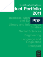 Portfolio 2011 bookmarked