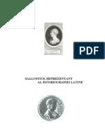 Sallustius reprezentant al istoriografiei latine