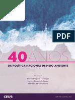 Os 40 anos da Política Nacional de Meio Ambiente - 2021 (1)