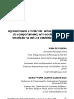 Agressividade e violência  reflexões acerca do comportamento anti-social