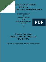 Celio Apicio - De Re Coquinaria