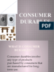 Consumer Durables Final Ppt
