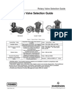 fisher control valve selectiion guide