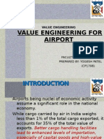 Value Eng for Airport